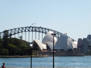 Harbour Bridge mit Opera House
