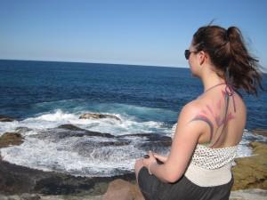 Blick auf den Pazifik an Sydnrys Küste